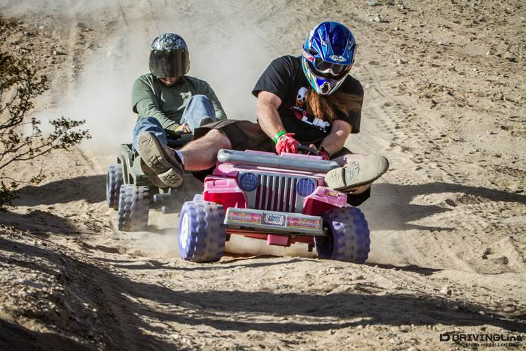 Jeep Downhill Racing