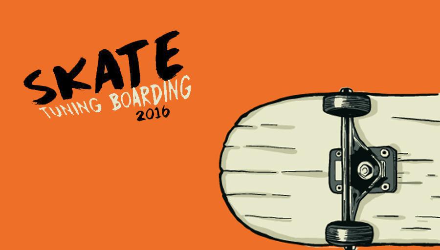 Skate tuning boarding 2016