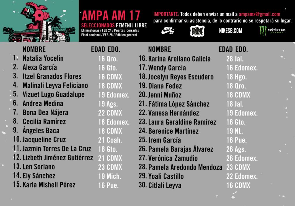 Ampa AM 2017