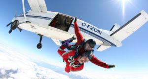 saltar en paracaídas
