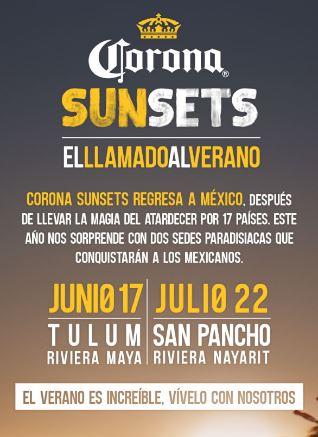 Corona Sunsets Tulum
