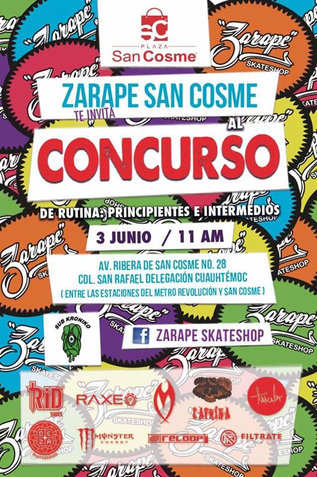 Concurso Zarape Skateshop