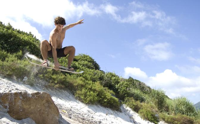 Pinamar argentina sandboard
