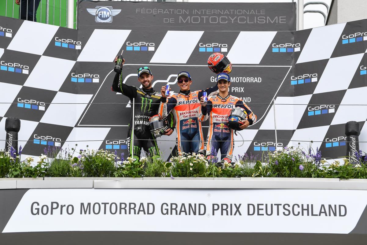ganadores moto gp alemania