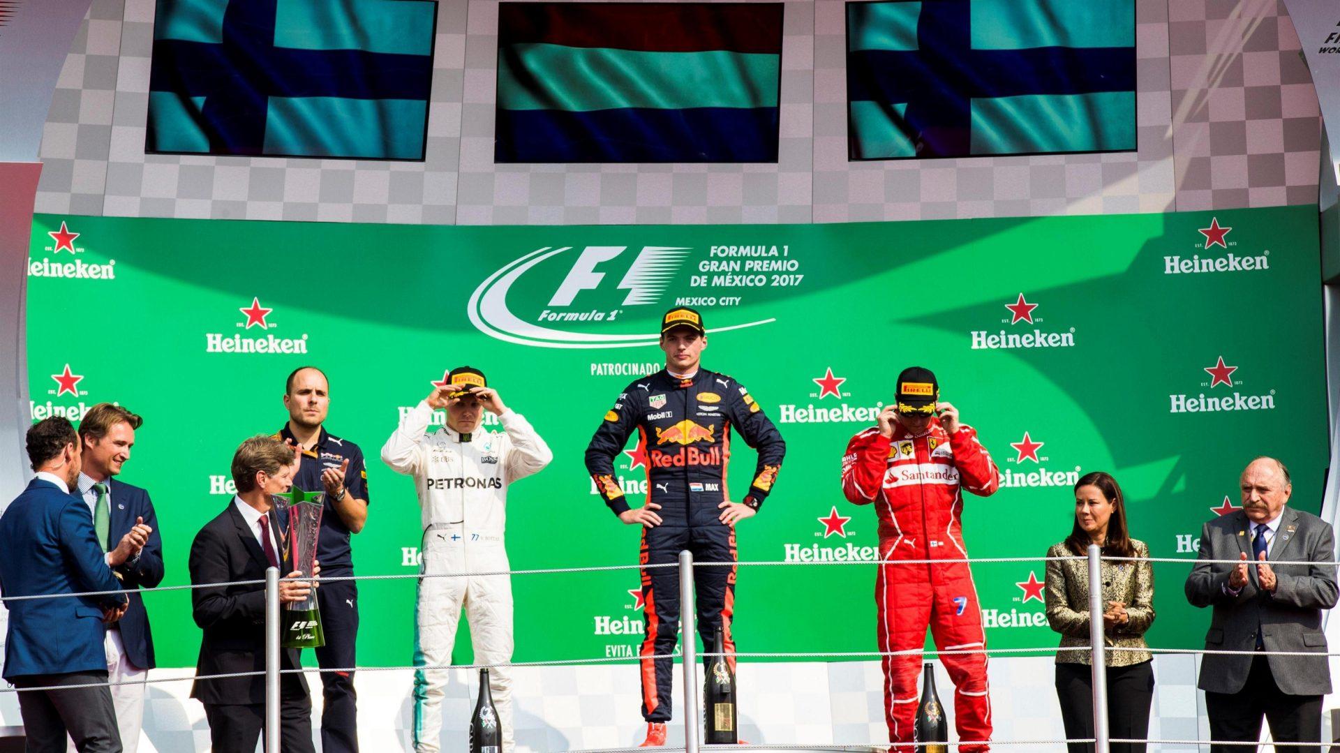 ganadores formula 1 mexico 2017