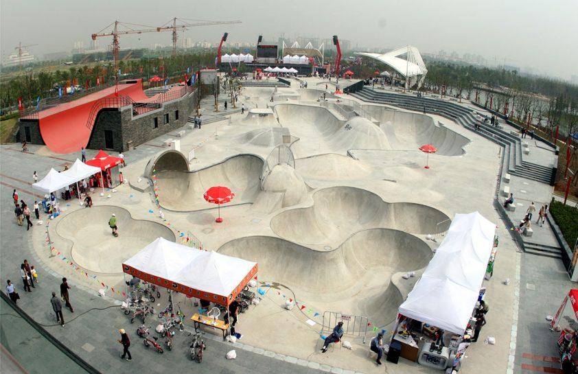 skatepark china