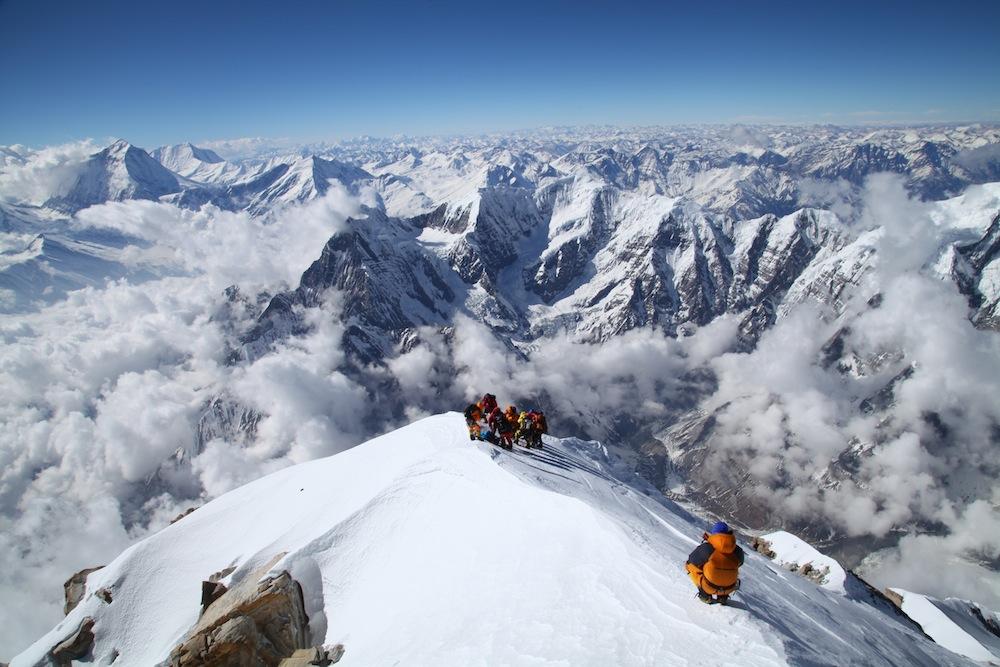 montaña en Nepal
