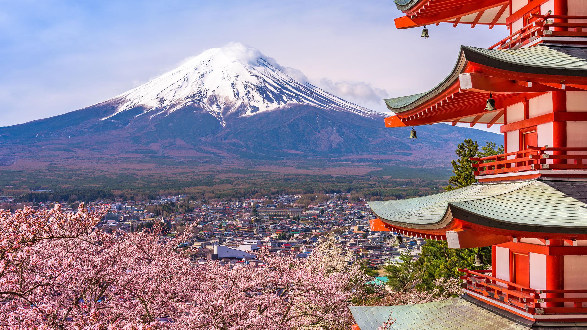 volcan japonés