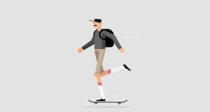 ilustradores de skate